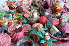 Ratten baskets Royalty Free Stock Photo