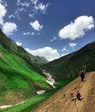 Ratti Gali. The famous Ratti gali in Neelum Valley Kashmir stock photo