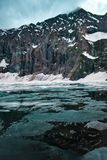 Ratti Gali Lake stock afbeeldingen