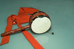 Rattle drum Royalty Free Stock Images