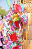 Rattle drum toy Stock Photo