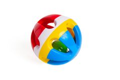 Rattle for newborns Royalty Free Stock Photo