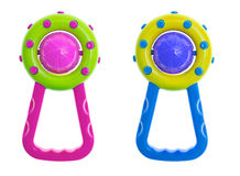 Rattle toy Stock Images
