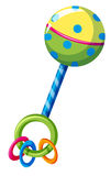 Rattle toy for kid Stock Photos