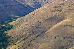 Rattlesnake Grade. View of Rattlesnake Grade in North East Oregon Royalty Free Stock Image