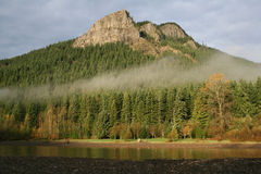 Rattlesnake Mountain. In western Washington State is popular with hikers Royalty Free Stock Images