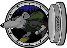 Ratto d'acciaio Fotografia Stock Libera da Diritti