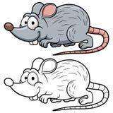 Ratto del fumetto Fotografia Stock Libera da Diritti
