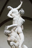 Ratto Delle Sabine. Florence. Italy. Stock Photo