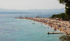 Ratto di Zlatni nel Croatia Fotografie Stock