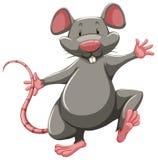 Ratto grigio illustrazione vettoriale