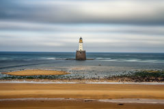 Rattray Head Lighthouse in Scotland Stock Images