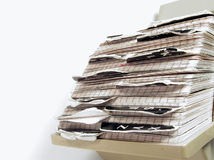 Ratty Rolodex Stock Photo