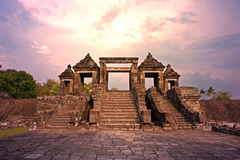 Ratu boko ancient palace temple Stock Images