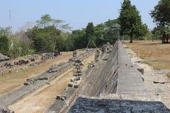 Ratu boko fort Royalty Free Stock Images
