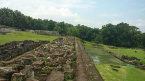 Ratu Boko Palace Area Royalty Free Stock Image