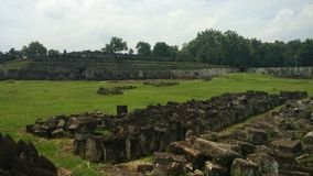 Ratu Boko Palace Area Royalty Free Stock Photos