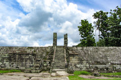 Ratu boko palace Royalty Free Stock Photography