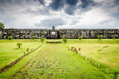 Ratu Boko palace Royalty Free Stock Images