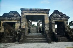 Ratu Bokos Temple Royalty Free Stock Image