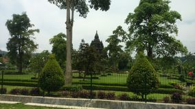 Ratu Boko slottområde Royaltyfria Bilder
