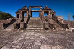 Ratu Boko Temple Entrance Royalty Free Stock Photo