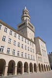 Ratusz Kontrollturm in Opole Polen lizenzfreie stockfotografie