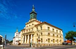 Ratusz (stadshus) av Lublin Arkivbilder