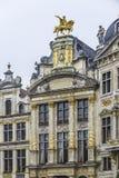 Ratusze na Uroczystym miejscu w Bruksela, Belgia Zdjęcie Stock