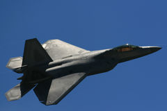 Raubvogel F-22 Stockfotos