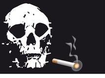 Rauch-Abbrüche Stockbild
