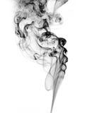 Rauch auf Weiß Stockbild