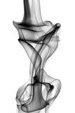 Rauch auf Weiß Stockfoto