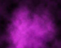 Rauch über purpurrotem Hintergrund Lizenzfreie Stockfotos