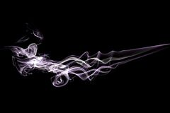 Rauch-Purpur stockbilder