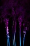 Rauch-Spuren Stockfoto
