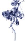 Rauch, weißer Hintergrund Stockfotos