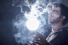 Rauchbieger lizenzfreies stockfoto