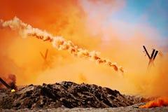 Rauchbomben Stockbilder