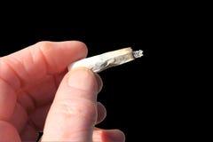 Rauchen getrennt Lizenzfreie Stockfotografie