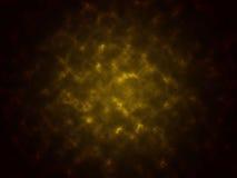 Rauchen Sie schwarzen der Beschaffenheit abstrakten und gelben Farbhintergrund Stockfoto