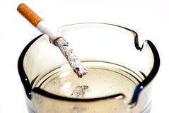 Rauchende Abbrüche Lizenzfreie Stockfotos