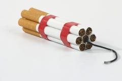 Rauchende Abbrüche! Lizenzfreie Stockfotos