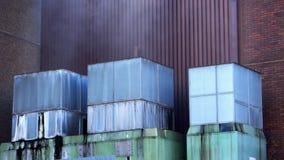 Rauchende Industrien Lizenzfreies Stockfoto