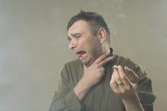 Rauchende Tötungen Lizenzfreies Stockfoto