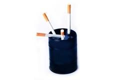 Rauchende Tötungen Lizenzfreies Stockbild
