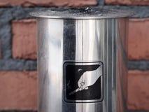 Rauchender Pole lizenzfreie stockbilder