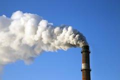 Rauchfabrik Stockbild