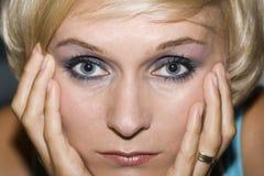 Rauchige Augen Lizenzfreies Stockfoto