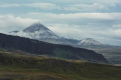 Rauchige Berge lizenzfreies stockfoto